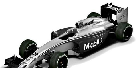 Black and silver will be the colors of choice for McLaren fans this week in Melbourne.