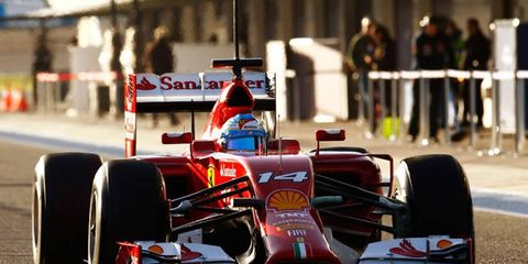 Former Formula One champion Fernando Alonso is optimistic that his Ferrari will be competitive this season.