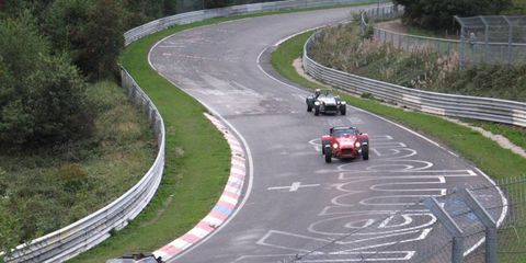 The Nürburgring was sold to German auto supplier Capricorn.