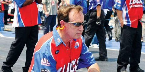 Forrest Lucas, founder and chief of Lucas Oil.
