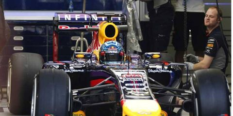 Red Bull's early-season testing troubles are well known. Jacques Villeneuve thinks driver Sebastian Vettel will suffer because of them.