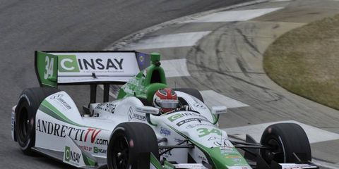 Could Carlos Munoz win his first IndyCar race this weekend in St. Petersburg? He is on of six drivers who are looking for their first series win.