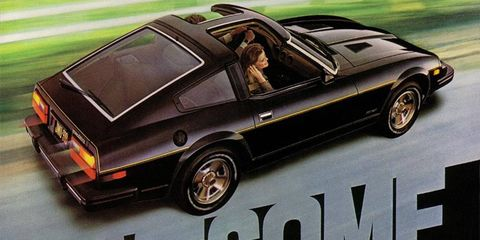 """The Datsun 280ZX was """"awesome."""" T-tops continue to be awesome."""