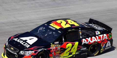 Jeff Gordon is fourth in the NASCAR Sprint Cup Series points chase after four races.