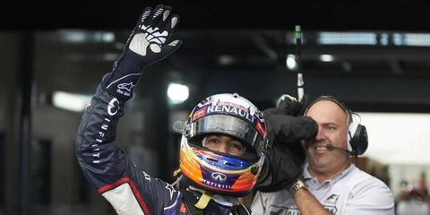 Daniel Ricciardo finished second in the Australian GP last week, but the Formula One driver was stripped of his finishing spot after being disqualified for a fuel-flow issue. Red Bull and Ricciardo are appealing the decision.