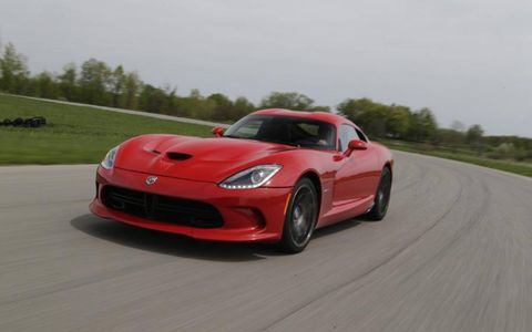 The 2013 SRT Viper GTS comes in at a base price of $124,990, with our tester reaching $129,490.