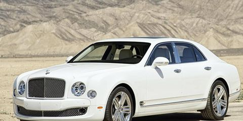 Bentley will display its new hybrid tech on the Mulsanne sedan at the China auto show.