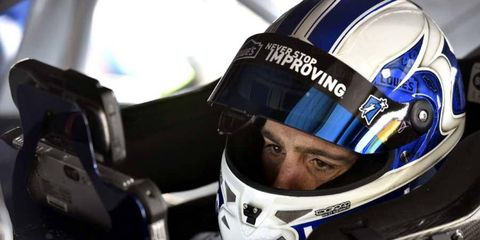 Seven different drivers have won races in 2014, but Jimmie Johnson is not one of them.