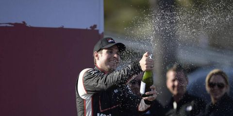 Will Power won the first race of the IndyCar season, and he's hoping for another win at Long Beach.