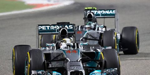 Lewis Hamilton and Nico Rosberg battled in Bahrain on Sunday, and team boss Toto Wolff expects more of the same this season.