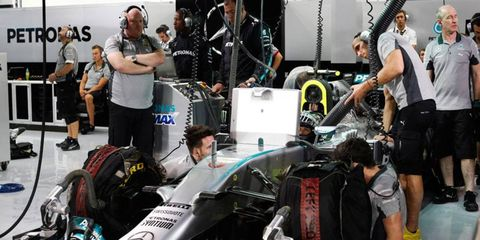 Mercedes is embracing the new rules in Formula One that has the team on top of the Constructors' Championship standings.