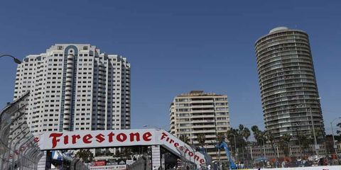 Long Beach, once a staple of the Formula One calendar, has been featured in IndyCar in recent years.