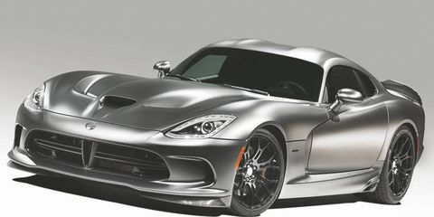 Just 10 Vipers with the Anodized Carbon appearance package will get the Time Attack equipment.