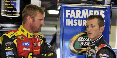In addition to their NASCAR Sprint Cup responsibilities,Clint Bowyer and Kasey Kahne also own racing teams in lower series.