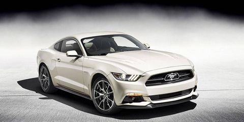 Just 1,964 examples of the 50th Anniversary Edition Mustang will be made.