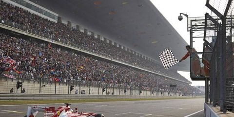 Last year, Fernando Alonso took the checkered flag in China. Who will win this year?