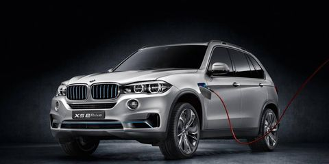 The BMW Concept X5 eDrive is nearing production, and should be in showrooms as a 2016 model.