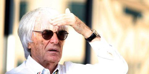 Bernie Ecclestone is on trial for bribery in Munich.