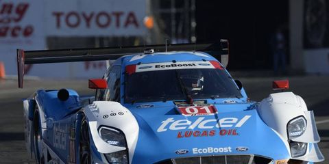 Scott Pruett, along with teammate Memo Rojas, took the pole for this weekend's United SportsCar Challenge race.