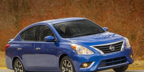 The 2015 Nissan Versa sedan will debut at the New York auto show next week.