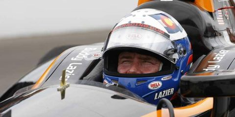 Buddy Lazier finished 31st in the 2013 edition of the Indianapolis 500.