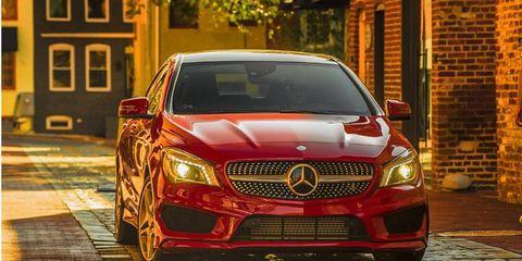 Mercedes' new gateway vehicle.