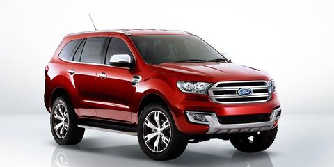 The Everest is meant to be a more rugged vehicle than the Explorer, and will be based on the Ranger pickup.