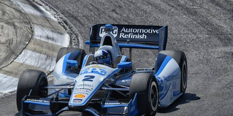 Juan Pablo Montoya is ready to start competing for wins in the IndyCar series.