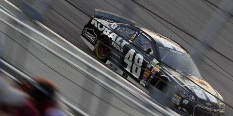 Jimmie Johnson doesn't yet have a win in 2014. Regardless, if history is any indicator, he's going to make the Chase.