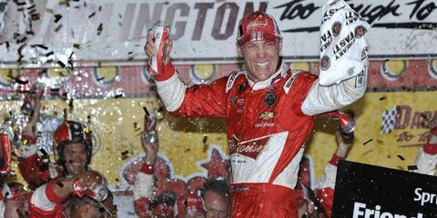 With two wins already this season Kevin Harvick has locked himself into a spot in the Chase.