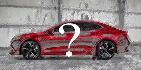 Hint: none of the cars described are the 2015 Acura TLX.
