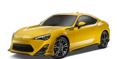 The Scion FR-S Release Series debuted at the New York auto show.