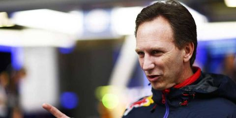 Christian Horner was quick to point out McLaren's on-track struggles this season.