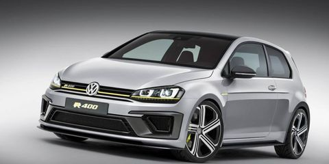 The VW Golf R400 is confirmed for production, but there's no word on whether it will reach the United States.