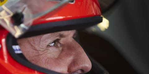 Michael Schumacher has been in a coma since December of 2013.