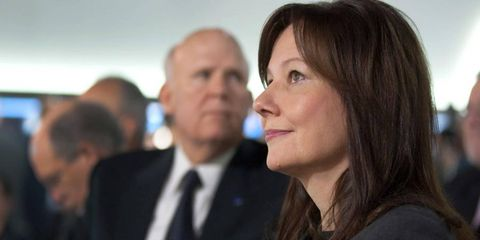 Mary Barra on Capitol Hill.