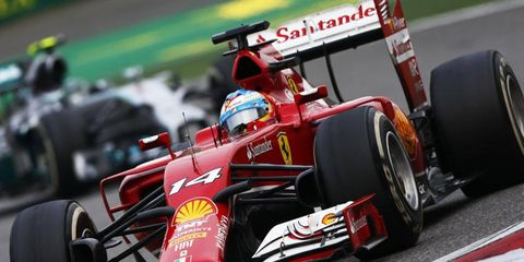 Fernando Alonso is ready for this weekend's race in Spain, but he's not optimistic about a podium finish.