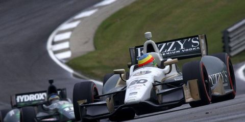 Mike Conway will be back at Indianapolis to tackle the road course at the first ever Grand Prix of Indianapolis.