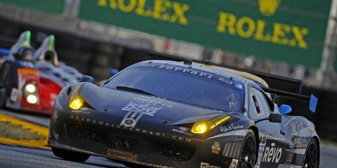 Scott Tucker, shown driving in the 2014 24 Hours of Daytona, is in hot water over some of his off-track businesses.