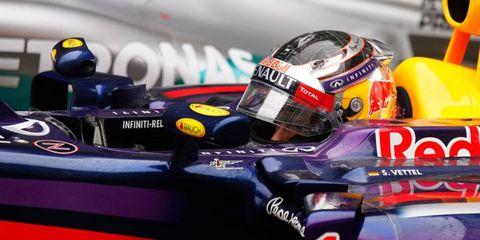 Four-time defending Formula One champion Sebastian Vettel is still seeking his first victory of the 2014 season.