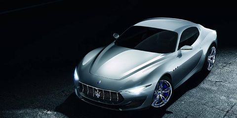 We thought the Alfieri coupe concept seemed too plausible to never see production. Maserati says it's coming in 2016, followed by a Cabriolet in 2017.