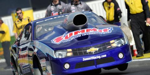 Sunoco will be the sole supplier of fuel for the NHRA beginning in 2015.