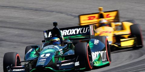 Andretti Autosport, IndyCar Series officials and government leaders in Louisiana attended a press gathering at NOLA Motorsports Park on Monday.