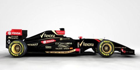 The artist El Greco will be celebrated in the livery and helmet of the Lotus F1 cars at the Spanish Grand Prix.