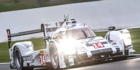 Marc Lieb drove the Porsche 919 Hybrid to the pole at Spa on Friday.