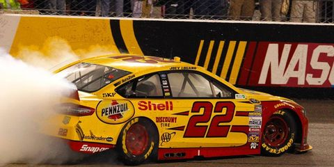 Joey Logano is sitting pretty in the NASCAR Chase for the Championship picture after his win last Saturday night in Richmond.
