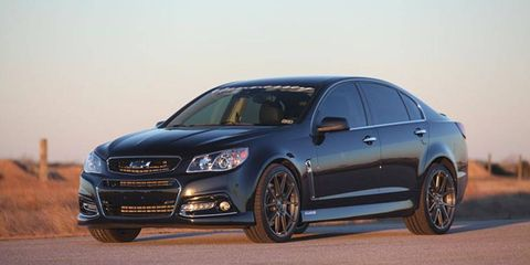 Performance upgrade packages start at 475 hp and top out at 1,000 hp.