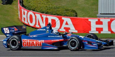 Luck, both good and bad, has defined Graham Rahal's Verizon IndyCar Season in 2014.