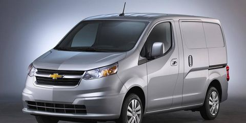 The 2.0-liter City Express will be available in LS and LT trim levels when it goes on sale.