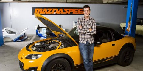 Dave Coleman gets to wring the most out of Mazda products, and he gets paid for it!